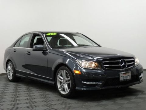Certified Pre-Owned 2013 Mercedes-Benz C-Class C250 Luxury Rear Wheel Drive SEDAN