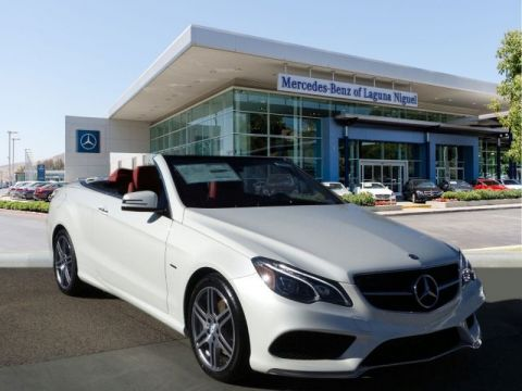 New 2017 Mercedes-Benz E 550 Cabriolet