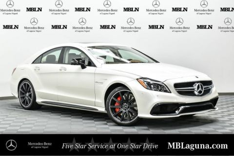 New 2017 Mercedes-Benz CLS 63S AMG® Coupe Rear Wheel Drive Coupe