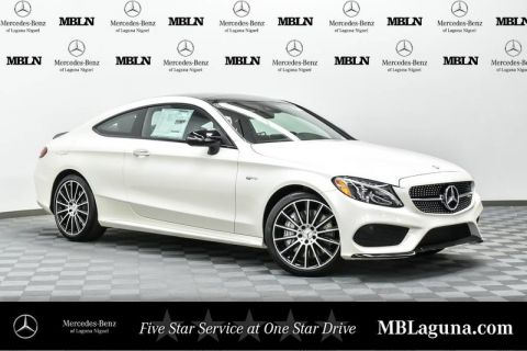New 2017 Mercedes-Benz C-Class C 43 AMG® Coupe Rear Wheel Drive Coupe