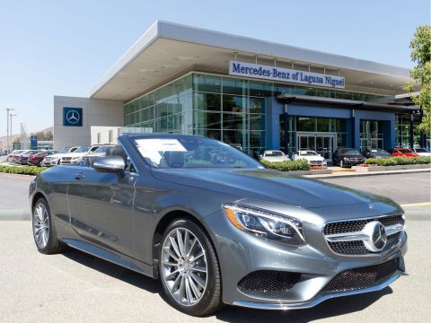 New 2017 Mercedes-Benz S-Class S550 Rear Wheel Drive CABRIOLET
