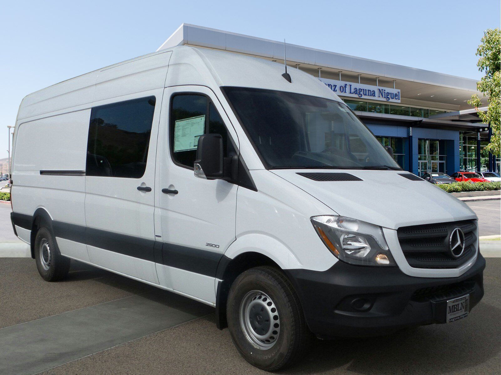 New 2016 Mercedes-Benz Sprinter Cargo Van 2500