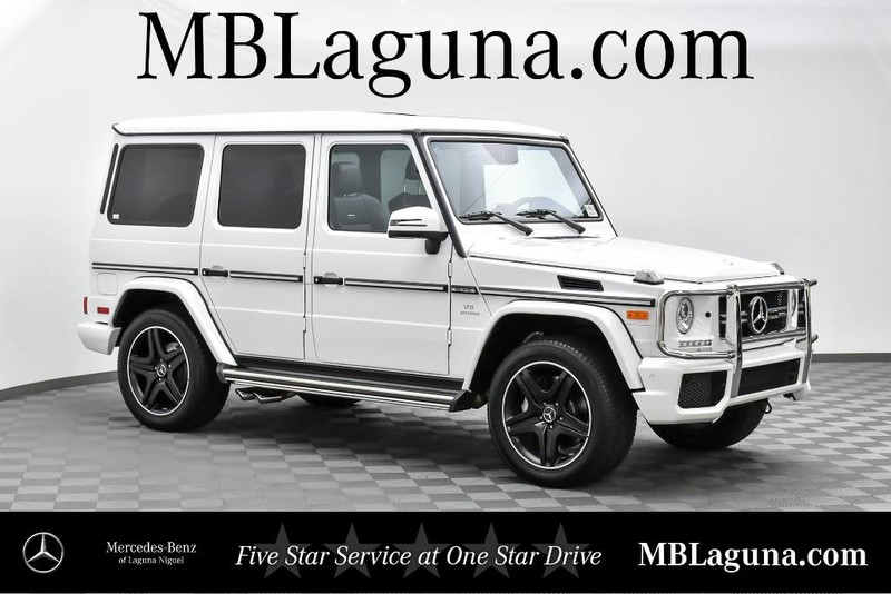 Pre owned 2017 mercedes benz g class amg g 63 suv in for Pre owned mercedes benz g class