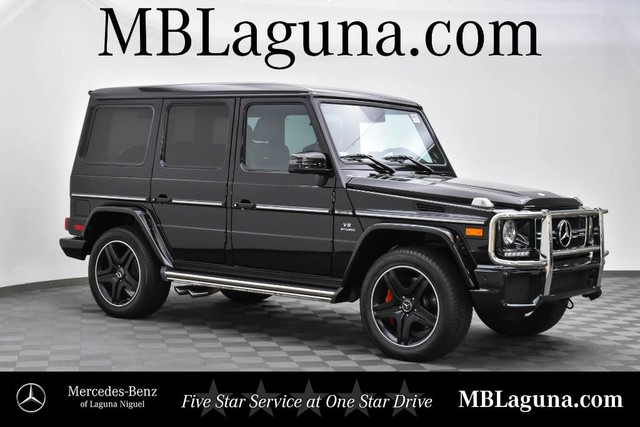 Certified Pre-Owned 2017 Mercedes-Benz G-Class AMG® G 63