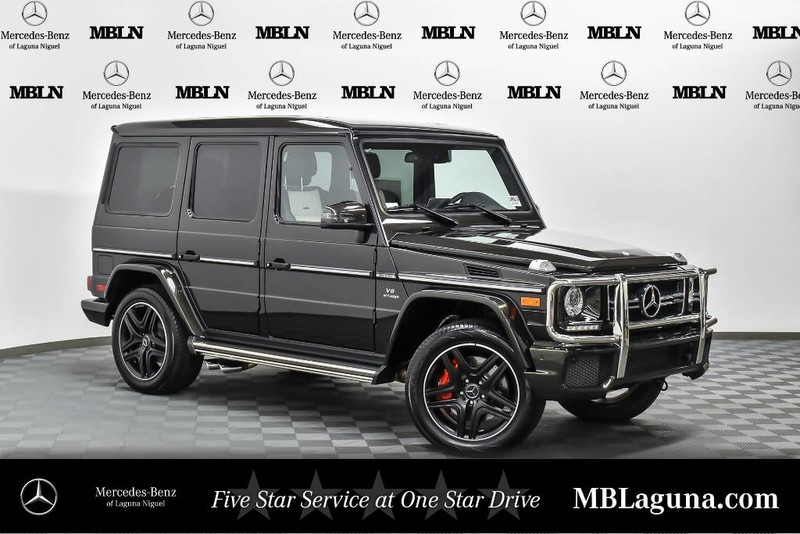 New 2017 mercedes benz g class amg g 63 suv in laguna for 2017 mercedes benz g class msrp