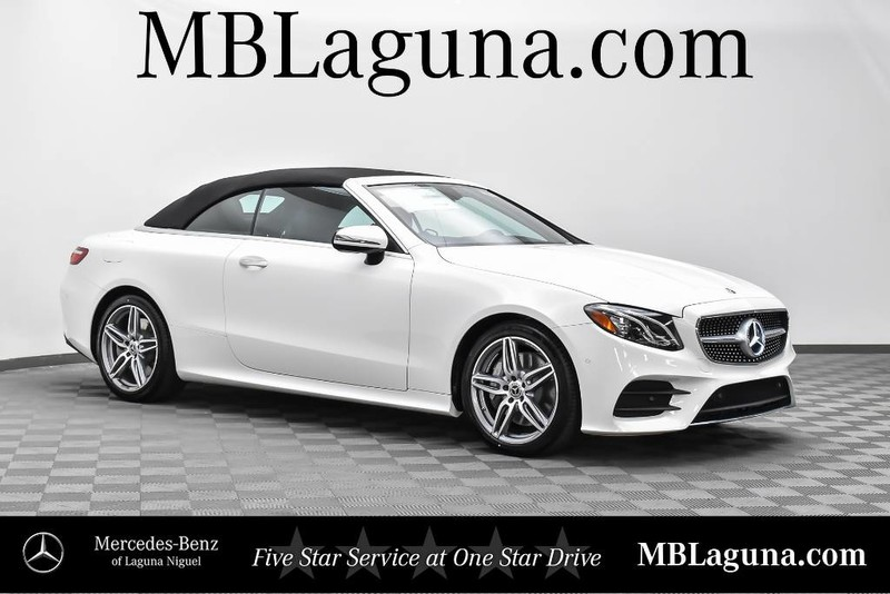 New 2018 Mercedes Benz E Class E 400 CABRIOLET in Laguna Niguel