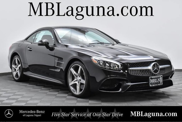 Certified Pre Owned 2017 Mercedes Benz SL SL 550