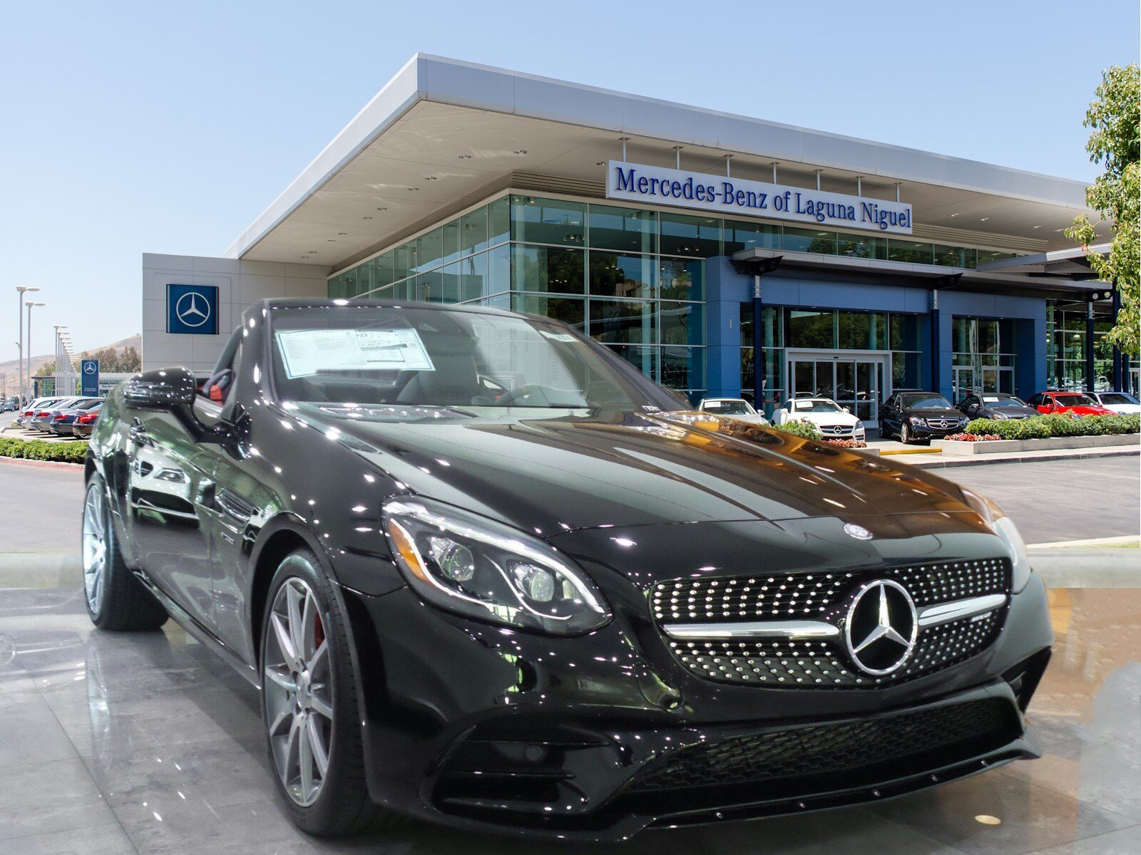 New 2017 Mercedes-Benz SLC AMG® SLC43