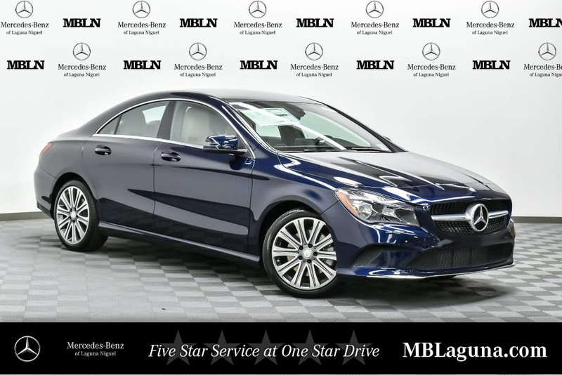 New 2018 mercedes benz cla cla 250 coupe in laguna niguel for Mercedes benz cla 2018 price