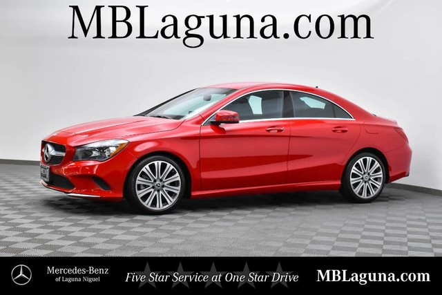 Pre Owned 2018 Mercedes Benz Cla 250