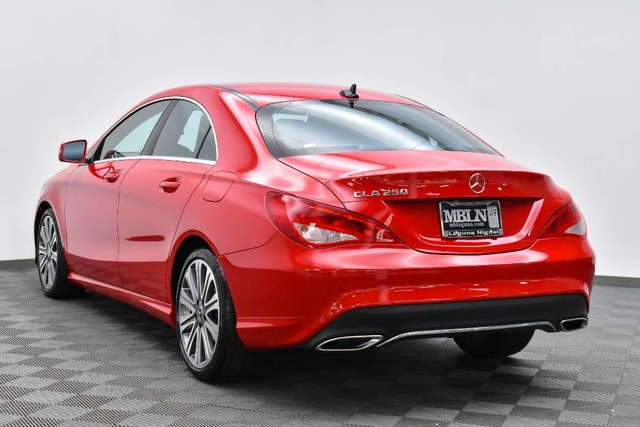 Pre Owned 2018 Mercedes Benz Cla 250 Coupe In Laguna Niguel A37741l Of