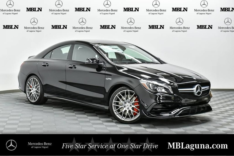 New 2018 mercedes benz cla amg cla 45 coupe in laguna for Mercedes benz financial payment address