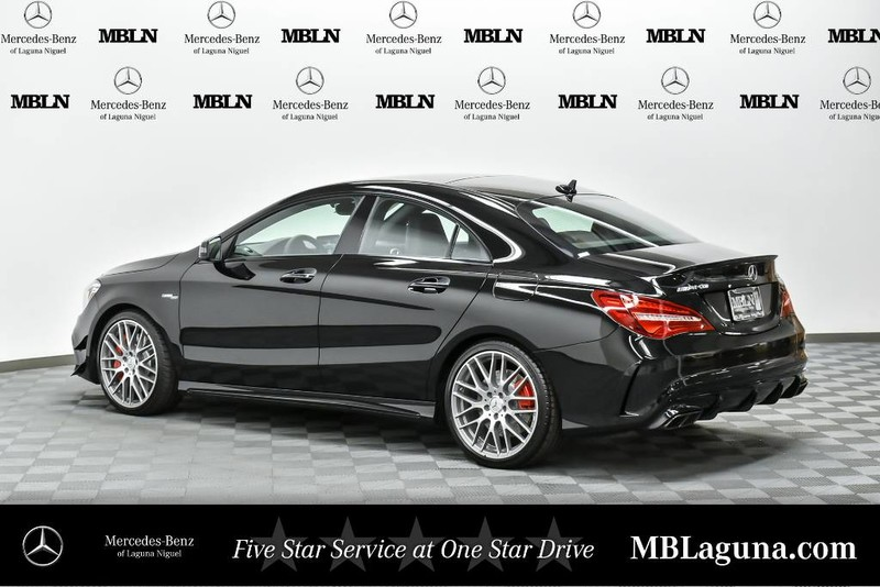 New 2018 Mercedes Benz Cla Amg 174 Cla 45 Coupe In Laguna