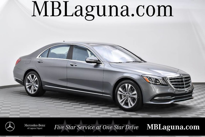 New 2018 mercedes benz s class s 450 sedan in laguna for Mercedes benz financial services online payment