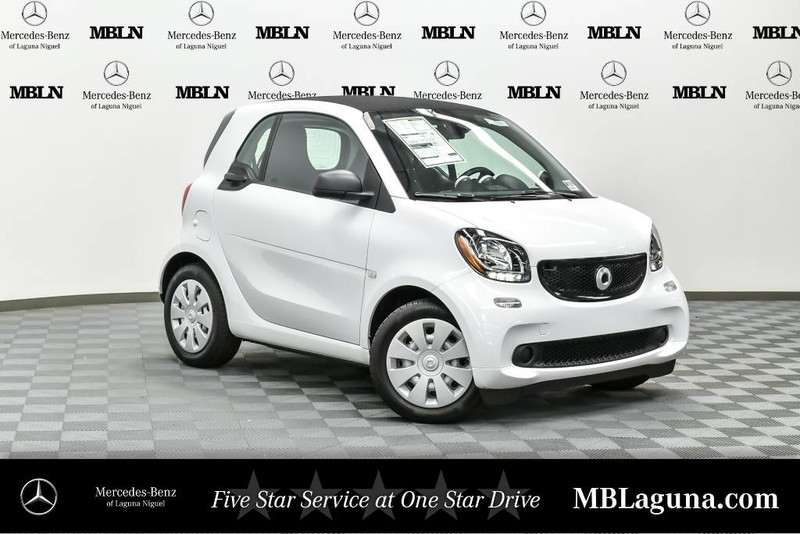 New 2017 smart smart fortwo coupe pure coupe in laguna for Smart mercedes benz