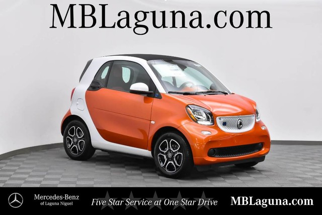 New 2019 smart EQ fortwo pure