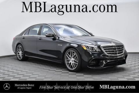 New 2018 Mercedes-Benz S-Class AMG® S 63